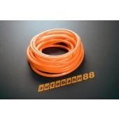 Autobahn88 3mm Silicone Vacuum Tube Hose 1 Meter Orange - ASHU06-3O