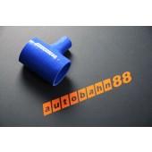 Autobahn88 51mm 2inch Silicone T-Piece Hose Blue - ASHU07-51B