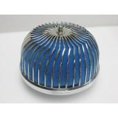 "Autobahn88 Air Filter Power Flow Neck 3"" Blue  - CAPP022-B"