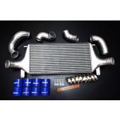 Autobahn88 Intercooler complete kit for Nissan Skyline R32 GTR W/ GTR Intercooler 610x300x100mm core size  - CARP033a